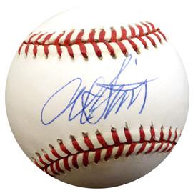 Al Smith Autographed Official AL Baseball Cleveland Indians, Baltimore Orioles Beckett BAS #E48510