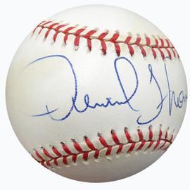 Derrick Thomas Autographed Official American League Baseball Kansas City Chiefs Beckett BAS #A79898