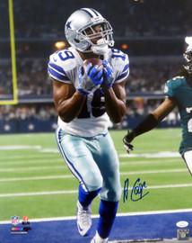 Amari Cooper Autographed 16x20 Photo Dallas Cowboys JSA Stock #144632
