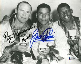 Jose Torres & Pete Rademacher Autographed 8x10 Photo Beckett BAS #F87745