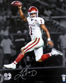 Kyler Murray Autographed 16x20 Photo Oklahoma Sooners Beckett BAS Stock #145897