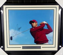 Sergio Garcia Autographed Framed 16x20 Photo LE #/100 UDA Holo Stock #146665