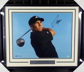Sergio Garcia Autographed Framed 16x20 Photo LE #/100 UDA Holo Stock #146666