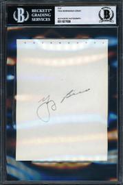 Yogi Berra & Dick Groat Autographed 4.5x6 Album Page Beckett BAS #11077608