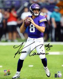 Kirk Cousins Autographed 16x20 Photo Minnesota Vikings Beckett BAS Stock #147617