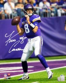 Kirk Cousins Autographed 16x20 Photo Minnesota Vikings Beckett BAS Stock #147618