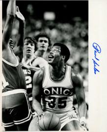 Paul Silas Autographed 8x10 Photo Seattle Supersonics MCS Holo #70196