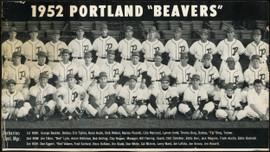1951 Portland Beavers 6.5x11 Team Photo SKU #148066