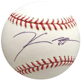 Hector Noesi Autographed Official MLB Baseball New York Yankees, Seattle Mariners Beckett BAS #H10391