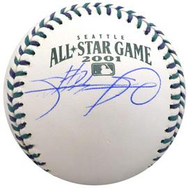 Sammy Sosa Autographed Official 2001 All Star Game Baseball Chicago Cubs Beckett BAS Stock #148620