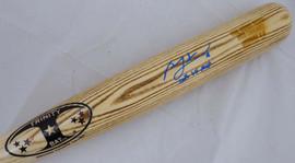 "Ben Zobrist Autographed Blonde Trinity Game Model Bat Chicago Cubs ""2016 WS MVP"" Beckett BAS Stock #148643"