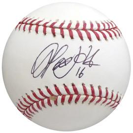 Alex Liddi Autographed Official MLB Baseball Seattle Mariners, Team Italy Beckett BAS #H10338