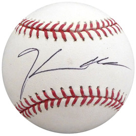 Hector Noesi Autographed Official MLB Baseball New York Yankees, Seattle Mariners Beckett BAS #H10628