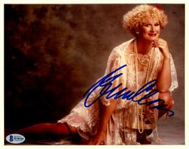 Glenn Close Autographed 8x10 Photo Actress Beckett BAS #H10104