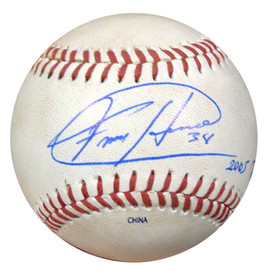 Felix Hernandez Autographed 2005 PCL Game Used Baseball Seattle Mariners PSA/DNA ITP #4A52854