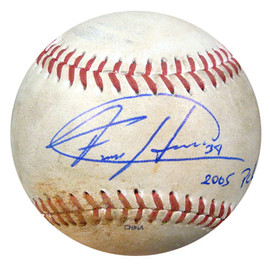 Felix Hernandez Autographed 2005 PCL Game Used Baseball Seattle Mariners PSA/DNA ITP #4A52851