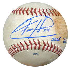 Felix Hernandez Autographed 2005 PCL Game Used Baseball Seattle Mariners PSA/DNA ITP #4A52846
