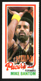 Mike Bantom Autographed 1980-81 Topps Card #115 Indiana Pacers SKU #150248