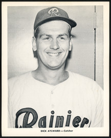 Dick Aylward 1956-59 Seattle Rainiers Popcorn 8x10 Premium Card SKU #151532