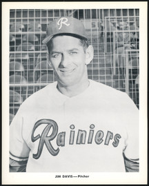 Jim Davis 1956-59 Seattle Rainiers Popcorn 8x10 Premium Card SKU #151536