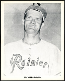 Ted Tappe 1956-59 Seattle Rainiers Popcorn 8x10 Premium Card SKU #151552