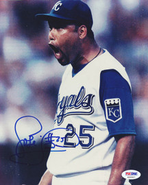 Jose Lima Autographed 8x10 Photo Kansas City Royals PSA/DNA #S35907
