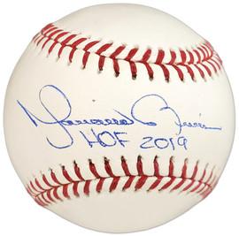 "Mariano Rivera Autographed Official MLB Baseball New York Yankees ""HOF 2019"" Beckett BAS Stock #152071"
