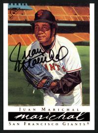 Juan Marichal Autographed 2003 Topps Gallery Card #36 San Francisco Giants Stock #152112