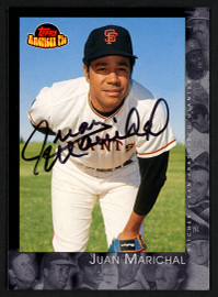 Juan Marichal Autographed 2001 Topps American Pie Card #50 San Francisco Giants Stock #152115