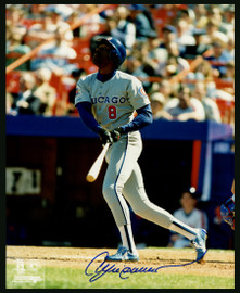 Andre Dawson Autographed 8x10 Photo Chicago Cubs Stock #152430