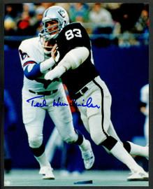 Ted Hendricks Autographed 8x10 Photo Oakland Raiders Stock #152907