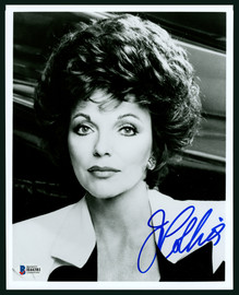Joan Collins Autographed 8x10 Photo Actress Beckett BAS #H44381