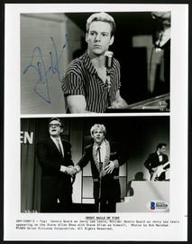 Dennis Quaid Autographed 8x10 Photo Jerry Lee Lewis Beckett BAS #H44320
