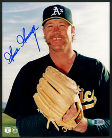 "Rich ""Goose"" Gossage Autographed 8x10 Photo Oakland A's Beckett BAS Stock #153171"