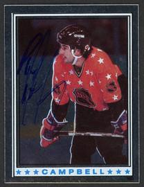 Paul Coffey Autographed 1982-83 Topps Sticker Card #160 Edmonton Oilers SKU #154078