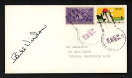 Bill Virdon Autographed 3.5x6.5 Postal Cover Pittsburgh Pirates SKU #156654