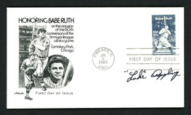 Luke Appling Autographed First Day Cover Chicago White Sox SKU #156825