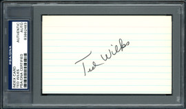 Ted Wilks Autographed 3x5 Index Card St. Louis Cardinals, Pittsburgh Pirates PSA/DNA #83862483