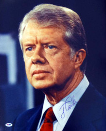 Jimmy Carter Autographed 16x20 Photo PSA/DNA #T14472