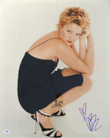Drew Barrymore Autographed 16x20 Photo PSA/DNA #T14493