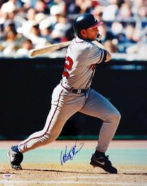 Walt Weiss Autographed 16x20 Photo Atlanta Braves PSA/DNA #T14967