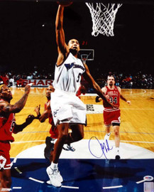 Juwon Howard Autographed 16x20 Photo Washington Wizards PSA/DNA #T14652