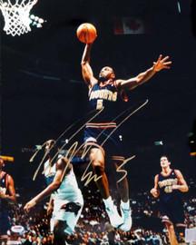 Ron Mercer Autographed 16x20 Photo Denver Nuggets PSA/DNA #S76713