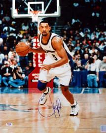 Juwon Howard Autographed 16x20 Photo Washington Wizards PSA/DNA #S76740