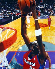 Darius Miles Autographed 16x20 Photo Los Angeles Clippers PSA/DNA #T14442
