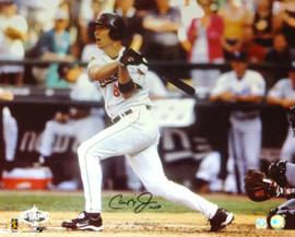 Cal Ripken Jr. Autographed 16x20 Photo Baltimore Orioles MLB Holo #AT00357627