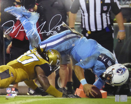 Marcus Mariota Autographed 16x20 Photo Tennessee Titans MM Holo #01920