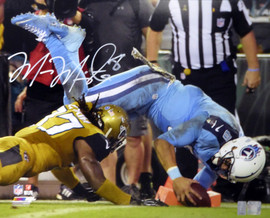 Marcus Mariota Autographed 16x20 Photo Tennessee Titans MM Holo #01907