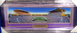 University Of Washington Huskies Unsigned Framed Panoramic Photo With Nameplate Stock #159398