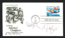 Adolph Kiefer Autographed First Day Cover Olympic Swimmer SKU #159584